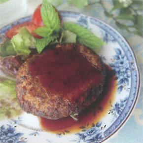 大豆まるごとミートの「ミンチタイプ」でハンバーグ